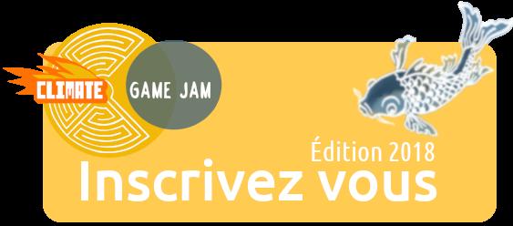 Inscrivez vous à la nouvelle édition de la Climate Game Jam